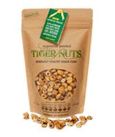Bag of SUPREME PEELED Organic Tiger Nuts - 142g